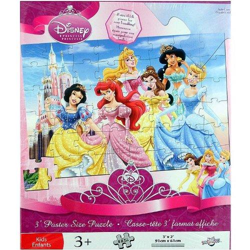 Cheap Danawares Disney Princess 3 Foot Poster-Size Puzzle 'Jewel' [48 pieces] (B002LTLBK6)