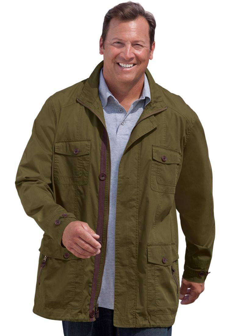 Boulder Creek Men's Big & Tall Lightweight Field Jacket $59.98