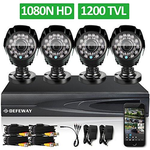 DEFEWAY-1080N-DVR-1200TVL-720P-HD-Outdoor-Home-Security-Video-Surveillance-Camera-System-no-Hard-Drive