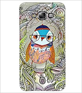 PrintDhaba Owl D-3853 Back Case Cover for SAMSUNG GALAXY GRAND 3 (Multi-Coloured)