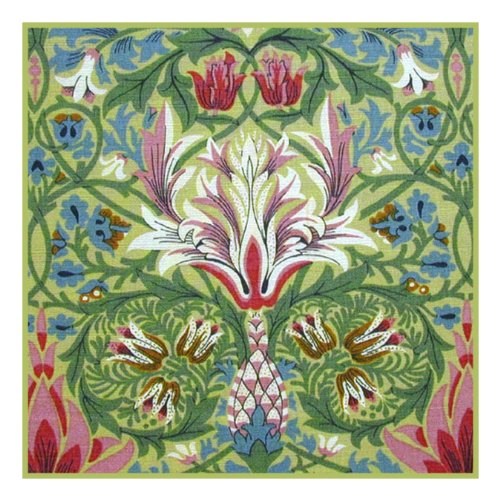 Snakeshead By William Morris Counted Cross Stitch Pattern