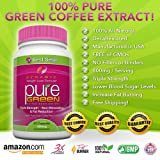 GREEN COFFEE BEAN EXTRACT - 60 Vegetarian Capsules - The ONLY Product with 400 mg of 100% Pure Clinically-Proven Green Coffee in Every Capsule - Full 30-Day Supply of Pure green coffee extract with Every Bottle