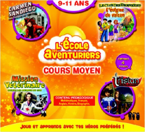 Ecole des aventuriers CM 2006 - Adi anglais + Il était une fois la vie + Tristan + Rayman dictées  (vf - French software)