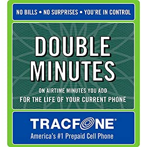 Tracfone Double Minutes for Life Card