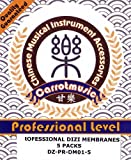 Model DZ-PR-DM01-5 5 packs of professional chinese flute/dizi membrane