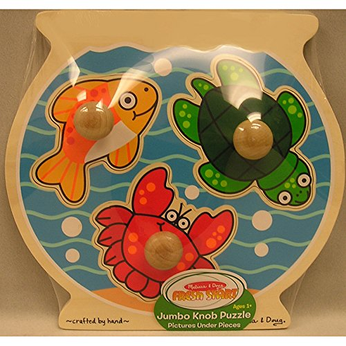 Fish Bowl Jumbo Knob Puzzle