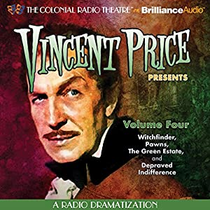 Vincent Price Presents, Volume Four Radio/TV Program