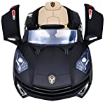 Jay Battery Operated Ride On Sports Car Black