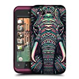 Head Case Designs Elephant Aztec Animal Faces Hard Back Case Cover for HTC Rhyme