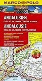 MARCO POLO Karte Andalusien, Costa del Sol, Sevilla, Cordoba, Granada 1:200.000 (MARCO POLO Karte 1:200000)