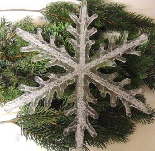 Riesen Schneeflocke aus Kunststoff