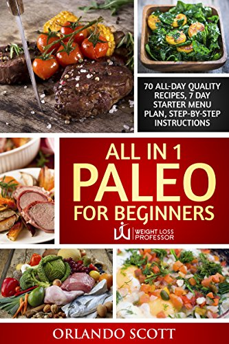 Paleo Diet For Beginners: Paleo Recipes For Rapid Weight Loss: Paleo For Beginners: All In 1 Paleo For Beginners