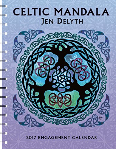 Celtic Mandala 2017 Engagement Datebook Calendar