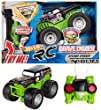Hot Wheels Radio Control Monster Jam Grave Digger Cyclone Spinner Vehicle