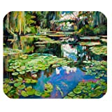 Personalized French Impressionist Painter Claude Monet - Water Lilies Rectangle Mouse Pad