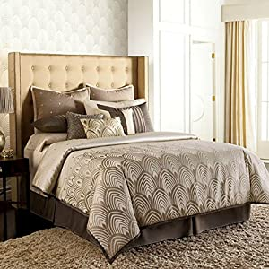 Jennifer Lopez Gatsby KING Comforter Set 4 PC + FREE $190 MATCH COVERLET