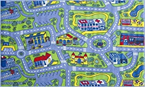 La Rug Driving Time Rug 51x78 by LA Rug Co