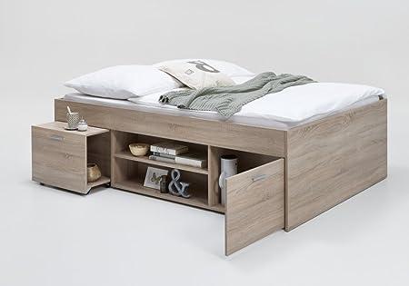 bett einzelbett kojenbett jugendbett 140x200 kinderzimmer. Black Bedroom Furniture Sets. Home Design Ideas