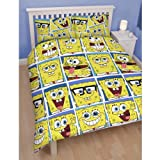 Spongebob Framed Double Rotary duvet cover bedding set