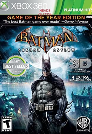 Batman: Arkham Asylum [Game of the Year Edition]