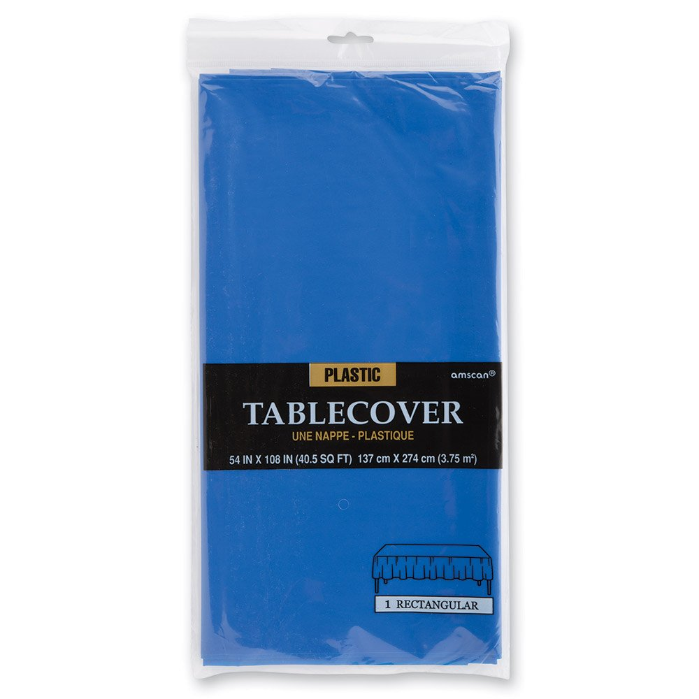 Royal Blue Rectangular Plastic Table Cover - Birthday and Theme Party Supplies сапоги vivian royal vivian royal vi809awyie50
