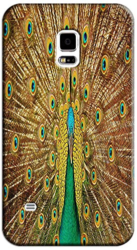 Beautiful Peacock Cell Phone Cases Design Special For Samsung Galaxy S5 I9600 No.5