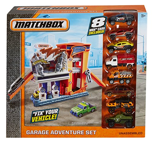 Matchbox Garage Adventure Set (Police Cars Matchbox compare prices)