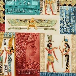 Amazon com egyptian treasures fabric with gold timeless treasures
