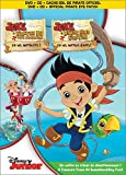 Jake et les Pirates du pays imaginaire : Yo ho, Matelots! (Bilingual) [DVD + CD + Eye Patch]