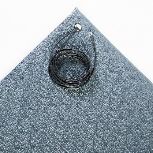 Crown - Antistatic Comfort-King Mat, Sponge, 24 X 60, Steel Gray Zc0025Gy (Dmi Ea