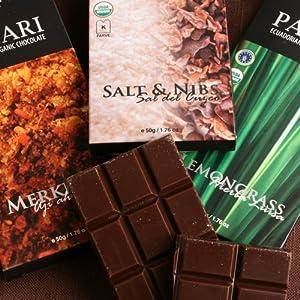 Pacari Organic Ecuadorian Chocolate Bar - Salt And Nibs 17 Ounce from Pacari