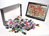Photo Jigsaw Puzzle of Map of Lausanne