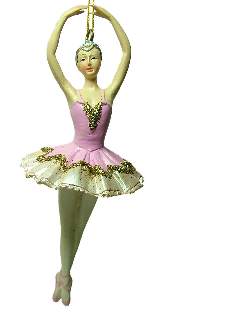 Sugar plum fairy ballerina christmas ornament dancer for Ballerina tree decoration