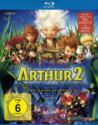 Arthur und die Minimoys 2 - Die Rckkehr des bsen M Blu-ray 