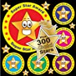 SPECIAL OFFER 2 Reward Packs (516 Stickers) 216 Star Reward Stickers 30mm Dia + 300 Gold Stars A Fantastic Way To Reward Children The Best Looking Guaranteed Quality