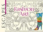 ESCAPES Fashion Art Coloring Book