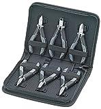 KNIPEX 00 20 17 Elektronikzangen-Set für Arbeiten an elektronischen Bauteilen