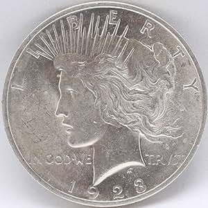 1923 Peace Silver Dollar Good Condition