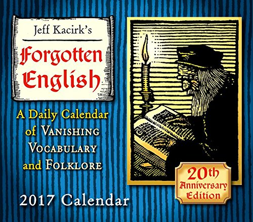 Forgotten English 2017 Boxed/Daily Calendar