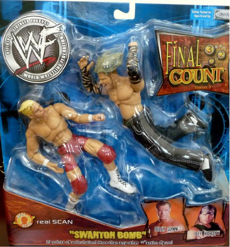 "Buy Low Price Jakks Pacific JEFF HARDY vs. BILLY GUNN WWE WWF Final Count 3 ""Swanton Bomb"" Figures (B004X26ICK)"