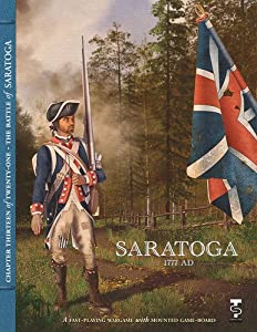 Amazon.com: TPS: Battle of Saratoga 1777 Board Game: Toys & Games