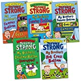 Jeremy Strong My Brother's Famous Bottom Pack, 5 books, RRP £25.95 (My Brother's Famous Bottom; My Brother's Famous Bottom Gets Pinched!; My Brother's Famous Bottom Goes Camping; My Brother's Hot Cross Bottom; My Brothers Xmas Bottom-Unwrapped!).