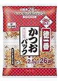 ヤマキ 徳一番かつおパック 2.5g×26P