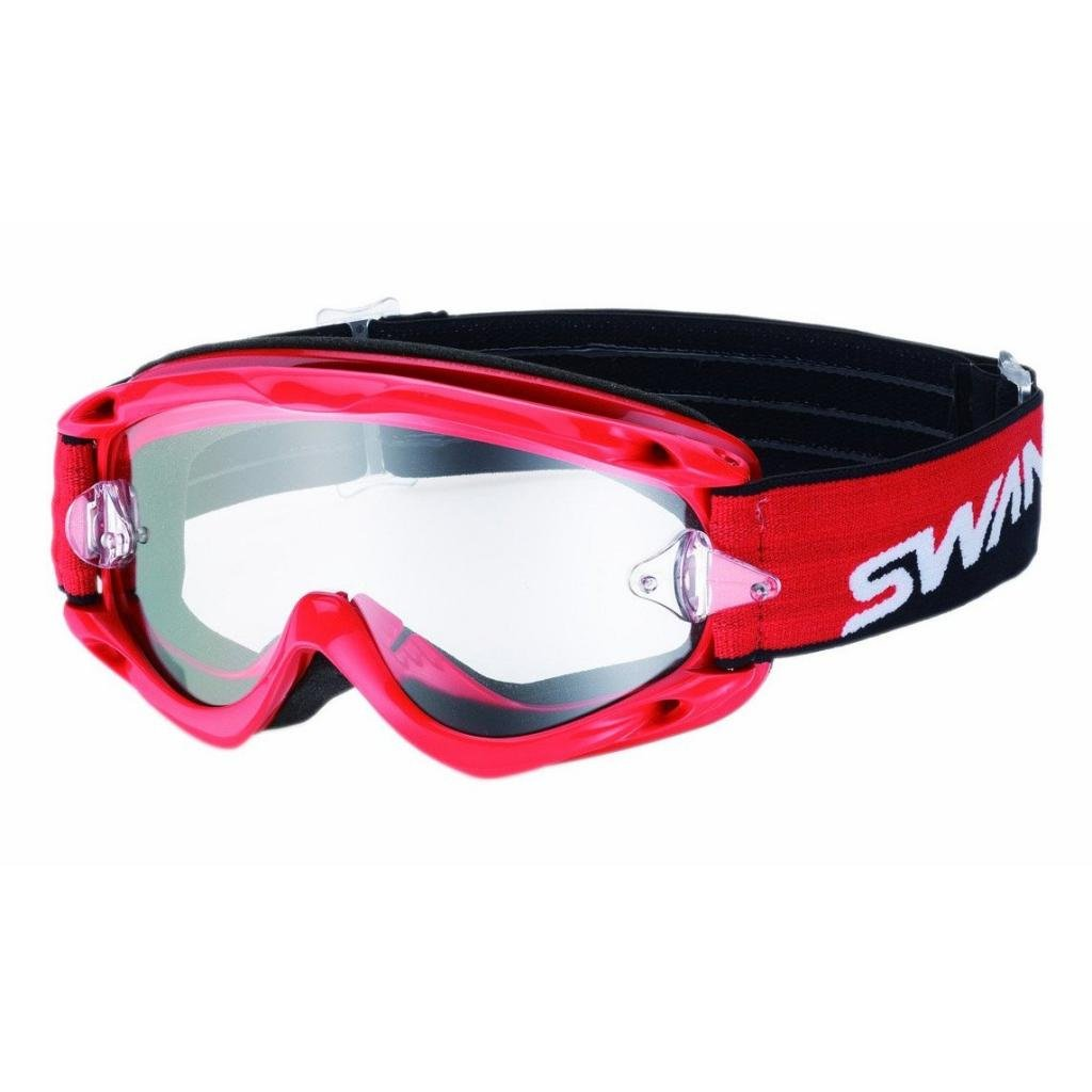 SWANS Yamamoto Optics Dirt Goggles MX-CHAMBO Red Clear the four swans