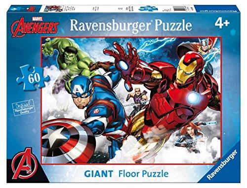 Ravensburger Italy 05490 9 - Puzzle Avengers, 60 Pezzi Giant