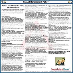 Sexual Harassment Poster - Laminated 24\