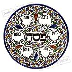 PASSOVER SEDER Plate - Jewish Dish Ar...