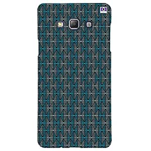 blue Triangle - Mobile Back Case Cover For Samsung Galaxy A5 (2015)