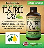 Tea Tree Oil - 100% Pure ATTIA Certified, Pharmaceutical Grade Essential Oil from Australia (4 oz) - Superior Grade Especially For: Skin Tags, Acne, Fungus, Odor, Lice, Shampoo, Antiseptic, Eczema, Cuts, Burns and ......