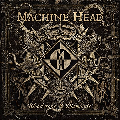 CD : Machine Head - Bloodstone & Diamonds (CD)